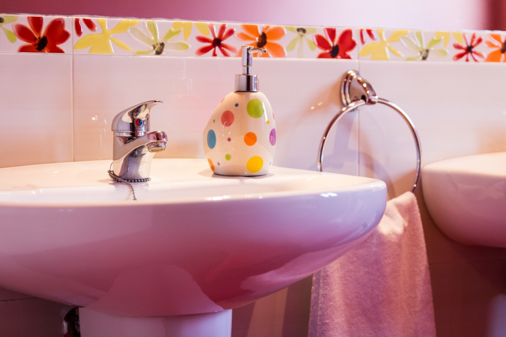 Baño en casa rural villanova, Toledo
